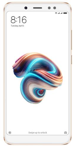 Xiaomi Redmi Note 5 64GB zlatý