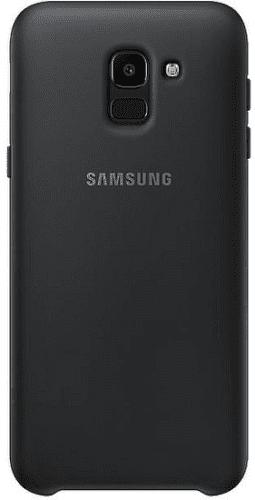 Samsung Dual Layer puzdro pre Samsung Galaxy J6, čierna