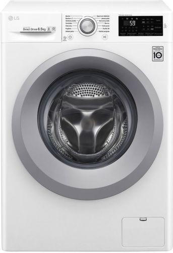 LG F60J5WN4W biela smart slim práčka plnená spredu