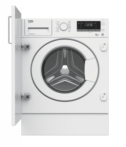 BEKO HITV8733B0, vstavaná práčka so sušičkou