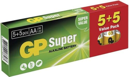 GP Super Alk AA 5+5 Batérie