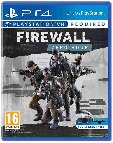 Firewall: Zero Hour - PS4 VR hra