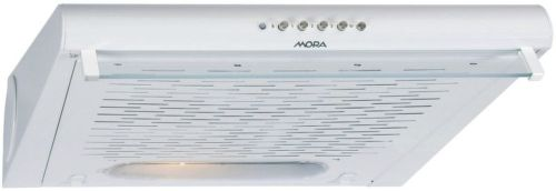 MORA OP 520 W, biely podskrinkový digestor