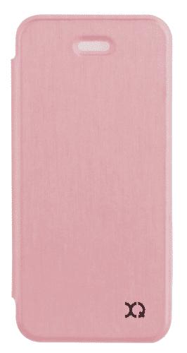 XQISIT Flap Cover Adour puzdro pre iPhone SE/5S/5, ružovo zlaté