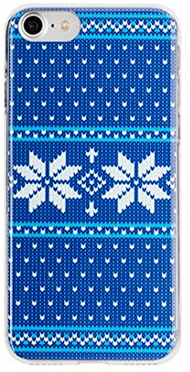 Flavr Ugly Xmas Sweater puzdro pre iPhone 8/7/6S/6, modrá