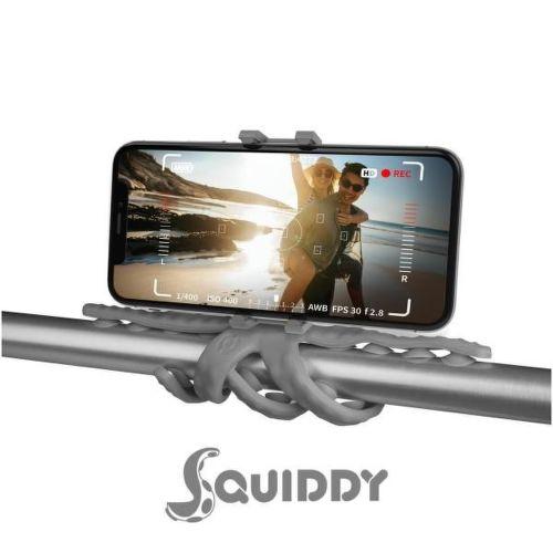 Celly Squiddy šedý, flexibilný držiak