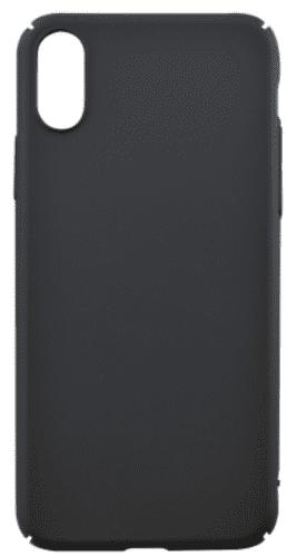 Mobilnet plastové puzdro pre Apple iPhone X, čierna