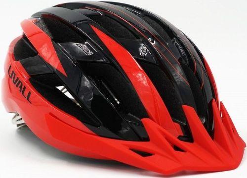 Livall MT1 cross country, cyklo prilba M červená