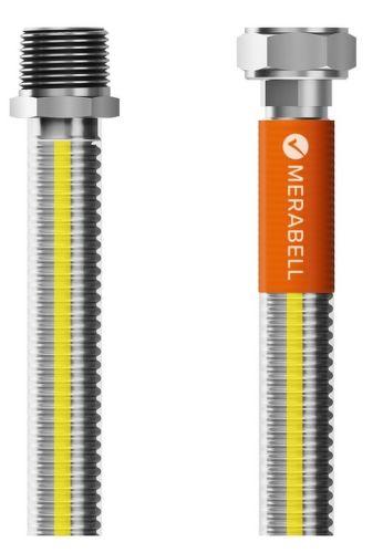 """Merabell Gas Classic R1/2"""" - G1/2"""" 125 cm plynová hadica"""