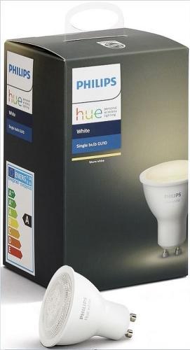 PHILIPS Hue White 5.5W GU10 1ks