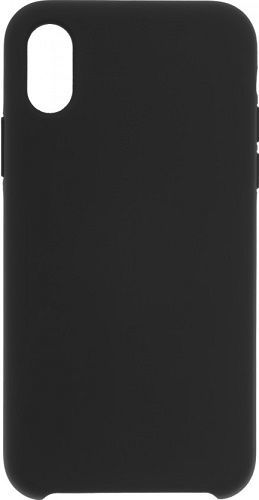 Winner Liquid silikónové puzdro pre Apple iPhone Xs Max, čierne