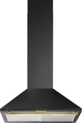 ELECTROLUX EFC216R, čierny komínový digestor