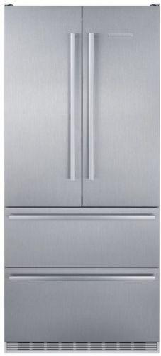 LIEBHERR CBNes 6256, nerezová americká chladnička