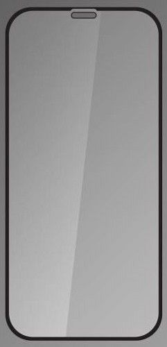 Qsklo ochranné sklo pre Apple iPhone Xr, čierna