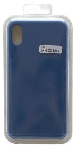 Mobilnet silikónové puzdro pre Apple iPhone Xs Max, tmavo modrá