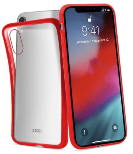 SBS silikónové puzdro pre Apple iPhone Xr, červené