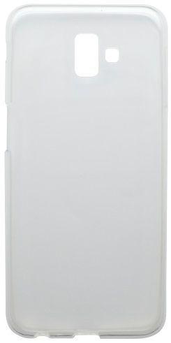 Mobilnet gumené puzdro pre Samsung Galaxy J6+, transparentná