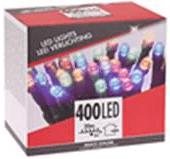 Lios Vianočné osvetlenie farebné 400