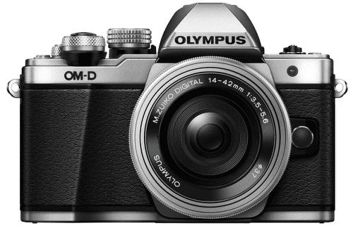 Olympus E-M10 Mark II strieborný + 14-42 Kit