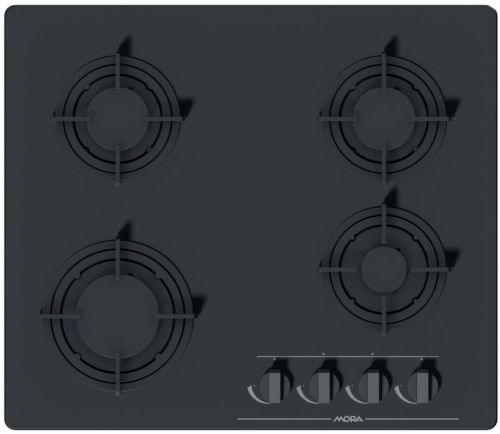 MORA VDP 645 GB3, čierna plynová varná doska