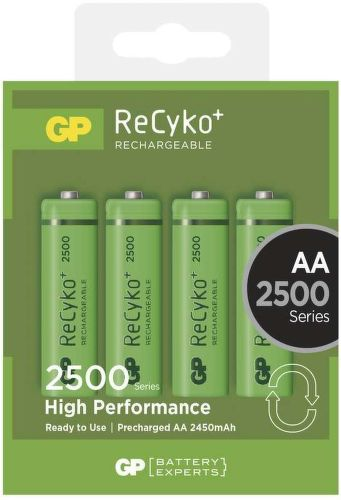 GP ReCyko+ 2500 HR6 (AA), 4 ks