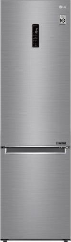 LG GBB62PZFFN, nerezová kombinovaná chladnička