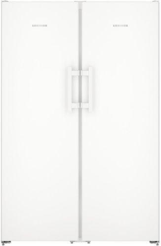 LIEBHERR SBS 7242, biela americká chladnička