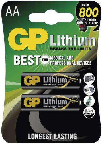 GP B15212 FR6 AA Lithium 2 ks