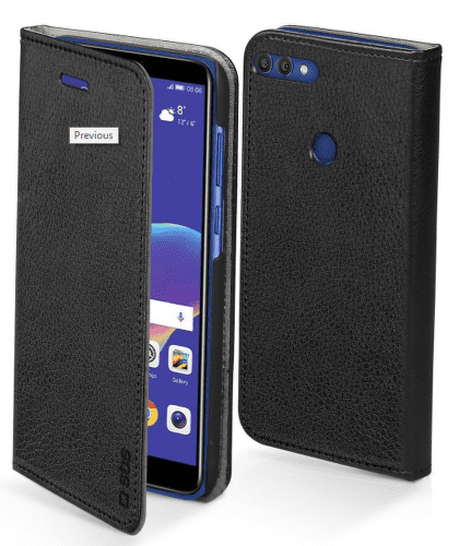 SBS knižkové puzdro pre Huawei Y6 2018 a Honor 7A, čierna