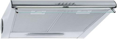 MORA OP 640 X, nerezový podskrinkový digestor