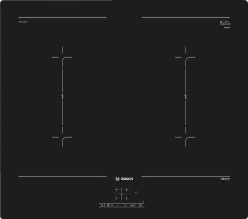 BOSCH PVQ611BB5E, čierna indukčná varná doska