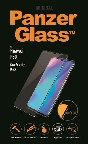 Panzerglass tvrdené sklo pre Huawei P30, čierna