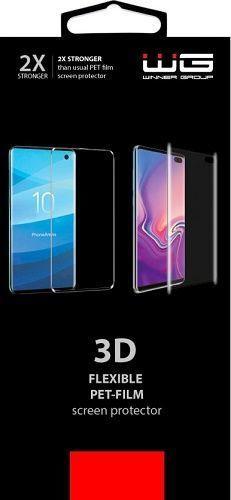 Winner 3D Curved Pet fólia pre Samsung Galaxy S10+, transparentná