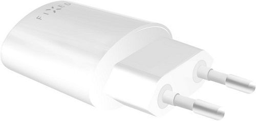 Fixed USB sieťová nabíjačka 2,4A, biela