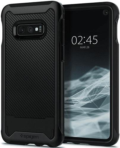 Spigen Hybrid NX puzdro pre Samsung Galaxy S10e, čierna
