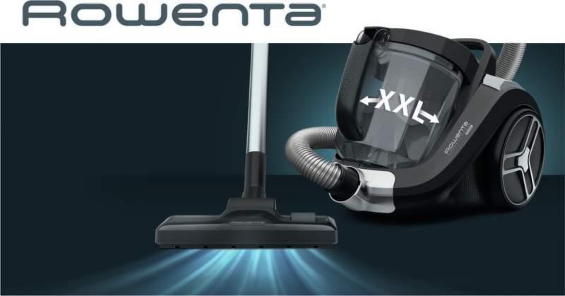 Cyklónová technológia Rowenta RO4825EA