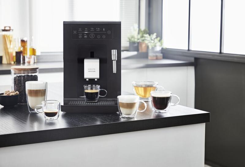 automatický kávovar Krups EA870810 Intuition Essential