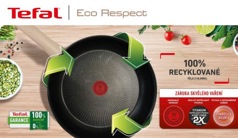 Tefal Eco-Respect G2540653 28 cm