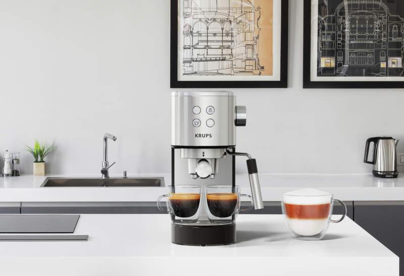 pákový kávovar  Krups Virtuoso XP442C11