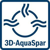 Systém 3D AquaSpar - BOSCH WAT28460BY