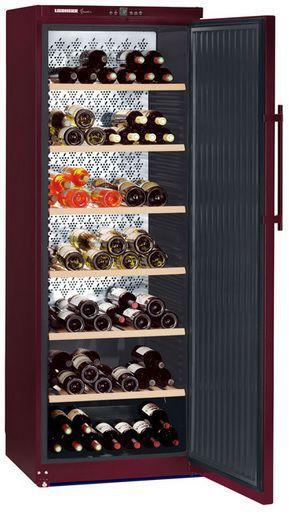 Štýlová chladiaca vitrína na víno - LIEBHERR WKt 5551