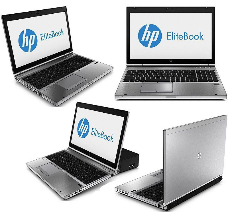 Využitie notebooku - HP EliteBook 8570p