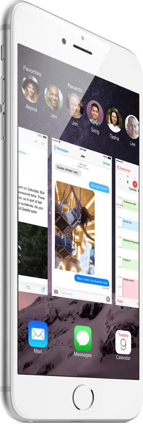 Operačný systém iOS - Apple iPhone 6