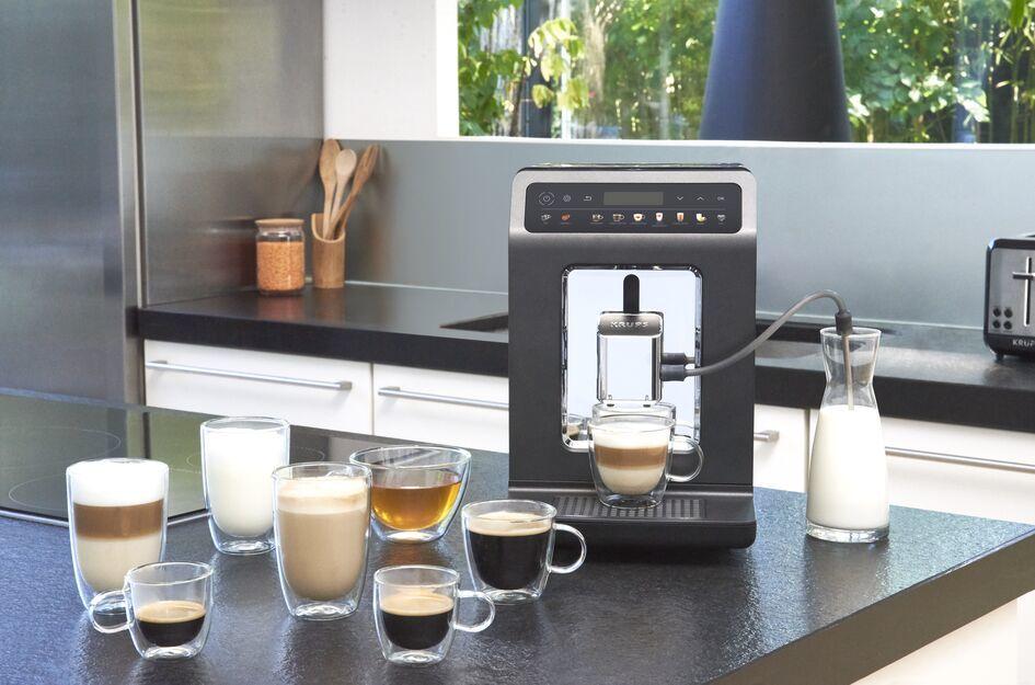 automatický kávovar Krups EA895E10 Evidence One