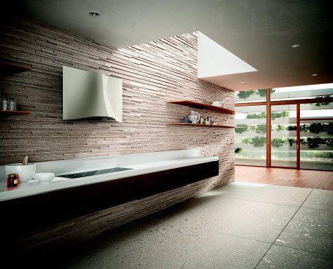 Moderný dizajn - Faber VEIL WH CORIAN A 90