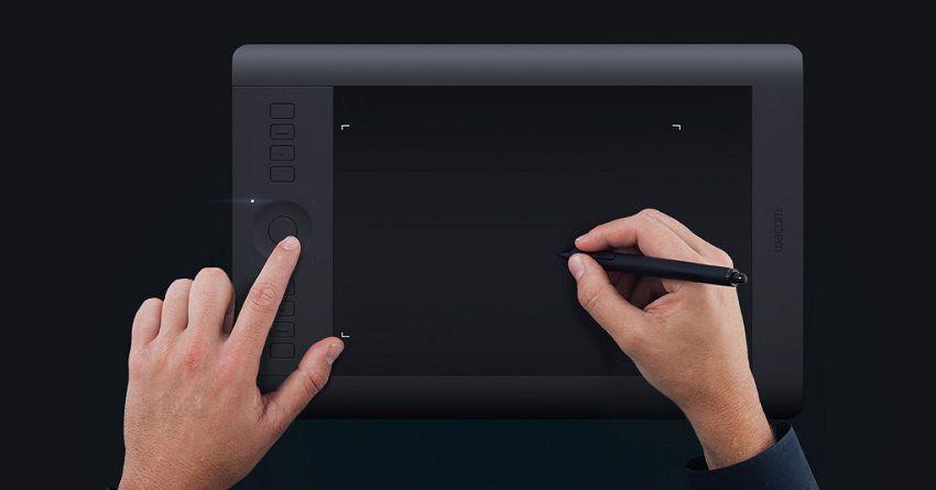 Senzitivita - Wacom Intuous Pro Creative Pen&Touch Tablet M
