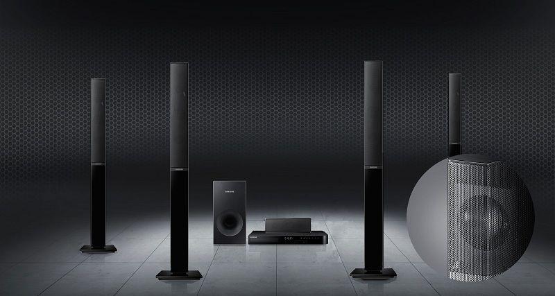 Priestorový zvuk ako v kine - SAMSUNG HT-J4550/EN