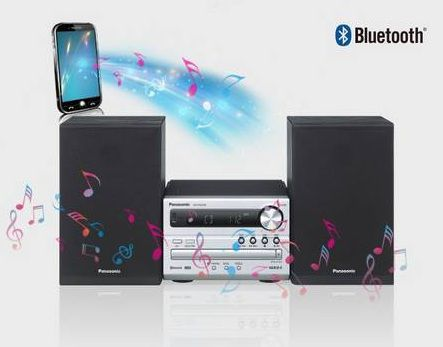 Bluetooth - PANASONIC SC-PM250EC-S