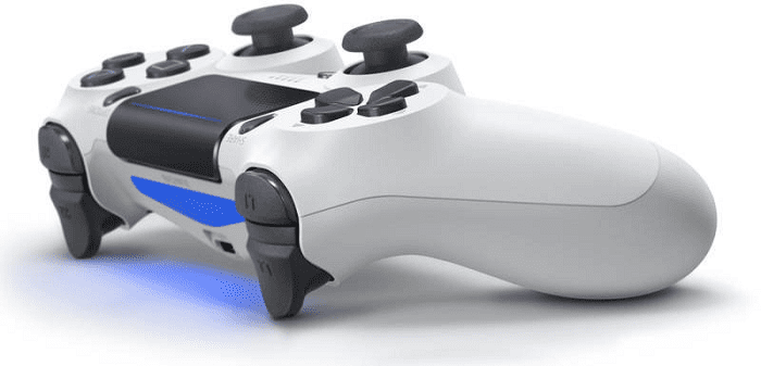 Light Bar - PS4 DUALSHOCK 4 WHITE CONTROLLER