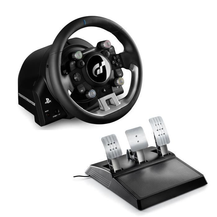 thrustmaster 4160674 t gt pre pc ps4 ps4 pro volant a ped le. Black Bedroom Furniture Sets. Home Design Ideas